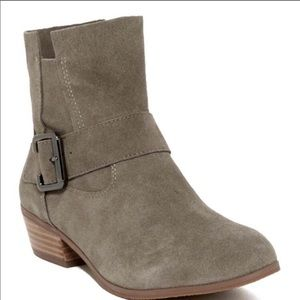 14th & Union Tan Suede Leather Boots